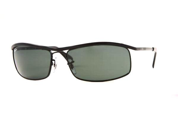 Очки Ray-Ban Active Lifestyle RB3339-006 Matte Black | Natural Green(G-15)