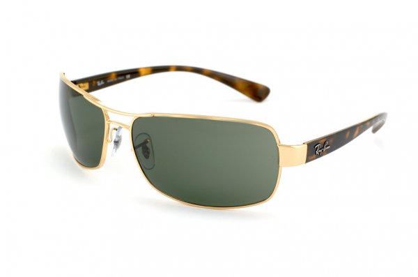 Очки Ray-Ban Active Lifestyle RB3379-001 Arista/Natural Green (G-15XLT)