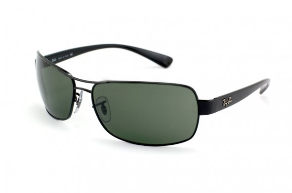 Очки Ray-Ban Active Lifestyle RB3379-002 Black | Natural Green (G-15XLT)