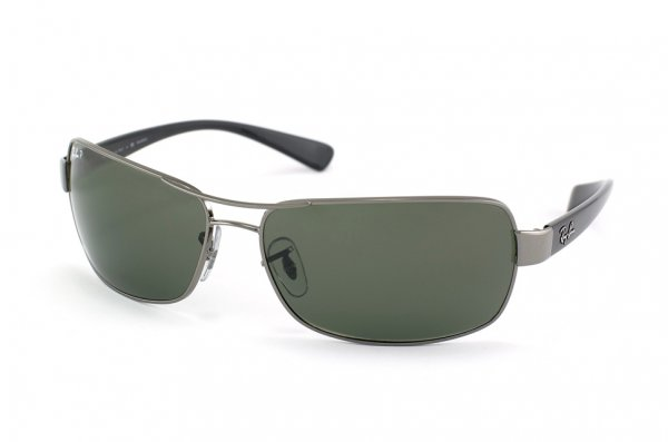 Очки Ray-Ban Active Lifestyle RB3379-004-58 Gunmetal | Natural Green Polarized