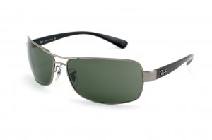 Очки Ray-Ban Active Lifestyle RB3379-004 Gunmetal | Natural Green (G-15XLT)