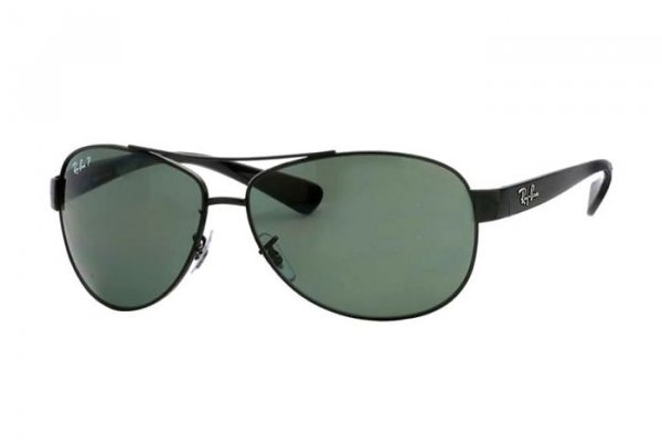 Очки Ray-Ban Active Lifestyle RB3386-002-9A Black | APX Grey/Green Polarized