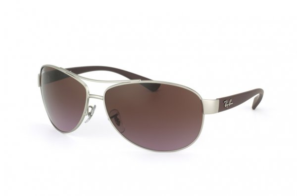 Очки Ray-Ban Active Lifestyle RB3386-019-14 Matte Silver | APX brown faded pink