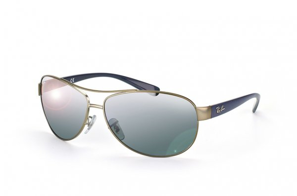 Очки Ray-Ban Active Lifestyle RB3386-029-88 Matte Gunmetal/Dark Blue | Grey Silver Mirror