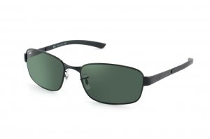 Очки Ray-Ban Active Lifestyle RB3413-002 Black | Natural Green ( G-15XLT)