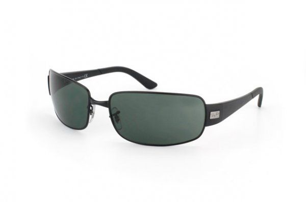 Очки Ray-Ban Active Lifestyle RB3421-006-71 Matt Black | APX Grey/Green