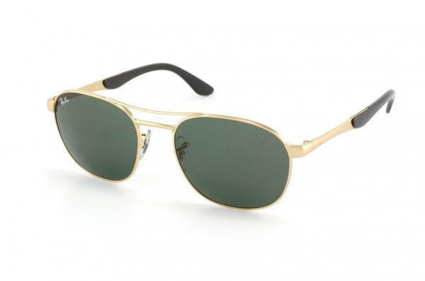 Очки Ray-Ban Active Lifestyle RB3424-001 Arista / Natural Green (G-15XLT)