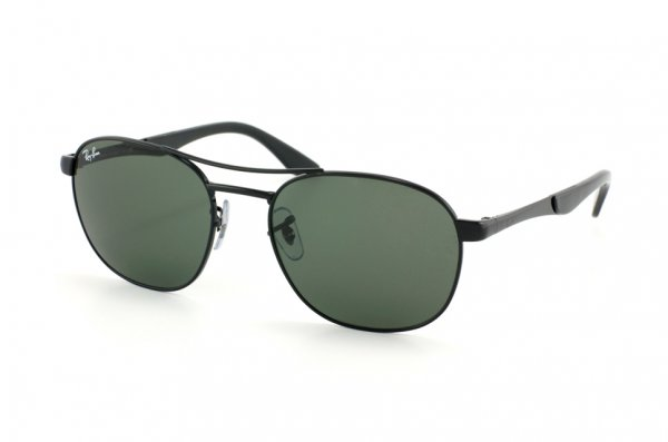 Очки Ray-Ban Active Lifestyle RB3424-002 Black | Natural Green ( G-15 XLT)