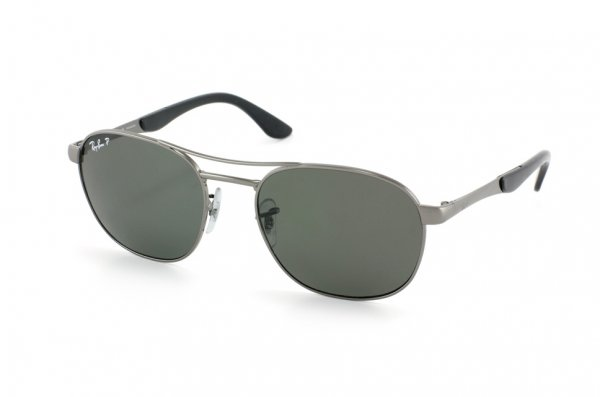 Очки Ray-Ban Active Lifestyle RB3424-004-58 Gunmetal | Natural Green Polarized