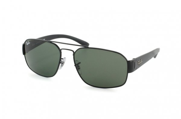 Очки Ray-Ban Active Lifestyle RB3427-002 Black | Natural Green (G-15XLT)