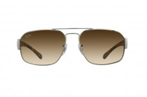 Очки Ray-Ban Active Lifestyle RB3427-004-51 Gunmetal | Faded Brown Gradient