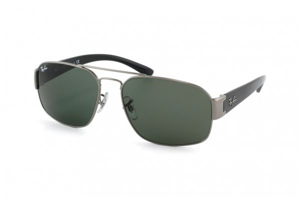 Очки Ray-Ban Active Lifestyle RB3427-004 Gunmetal | Natural Green ( G-15XLT)