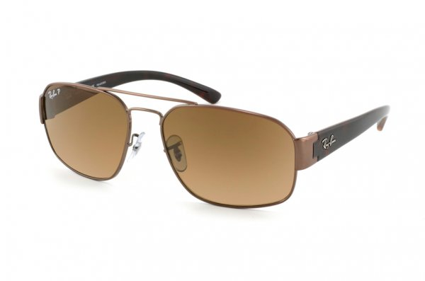 Очки Ray-Ban Active Lifestyle RB3427-096-M2 Dark Brown/Polar Faded Brown Polarized