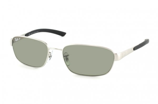 Очки Ray-Ban Active Lifestyle RB3430-003-M4 Silver | Polarized Green GSM