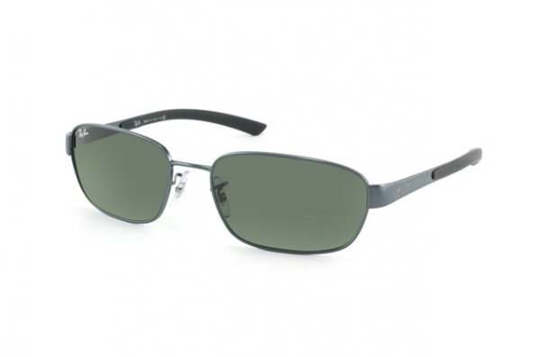 Очки Ray-Ban Active Lifestyle RB3430-095 Dark Blue | Natural Green