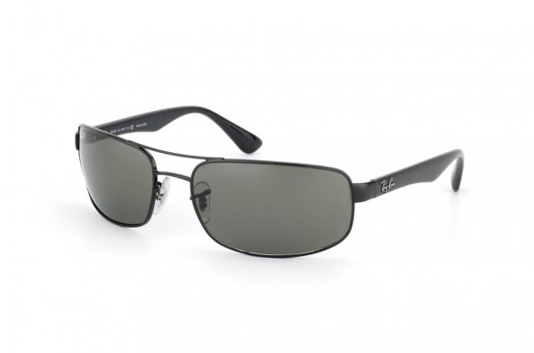 Очки Ray-Ban Active Lifestyle RB3445-002-58 Black/Natural Green Polarized