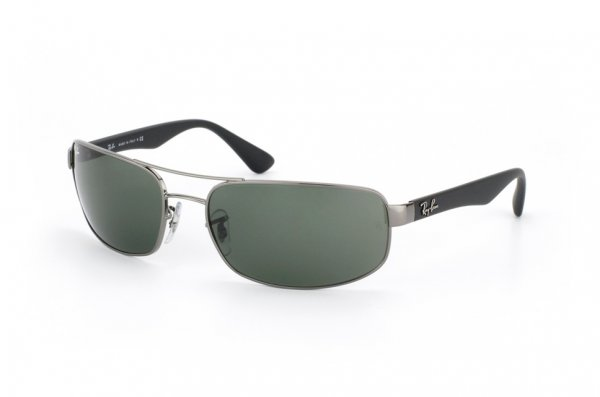 Очки Ray-Ban Active Lifestyle RB3445-004 Gunmetal | Natural Green (G-15XLT)