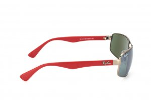 Очки Ray-Ban Active Lifestyle RB3445-005-40 Matte Red / Matte Gunmetal | G-31 Mirror