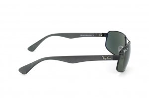 Очки Ray-Ban Active Lifestyle RB3445-006-58 Matt Black | Natural Green Polarized