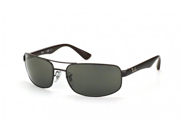 Очки Ray-Ban Active Lifestyle RB3445-006-P2 Matt Black | Crystal Grey Polarized