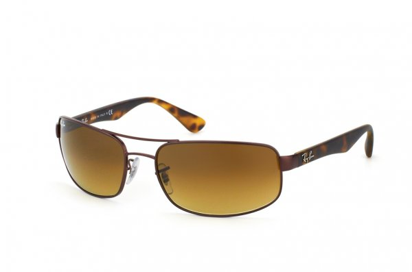 Очки Ray-Ban Active Lifestyle RB3445-012-85 Matte Brown/Havana | Brown Faded Yellow