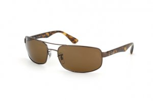 Очки Ray-Ban Active Lifestyle RB3445-014-57 Brown | Natural Brown Polarized