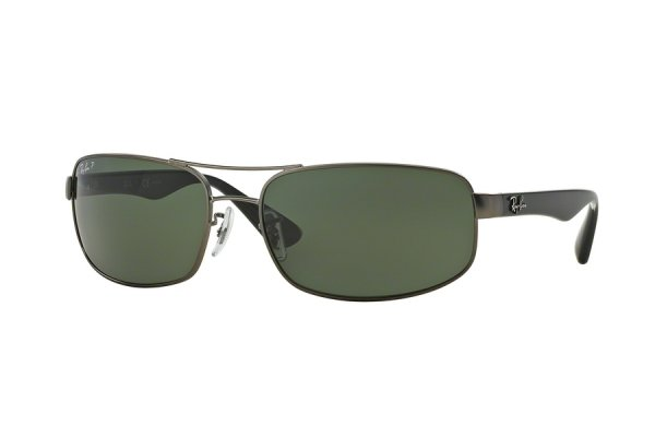 Очки Ray-Ban Active Lifestyle RB3445-029-58 Matte Gunmetal | Natural Green Polarized
