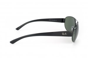 Очки Ray-Ban Active Lifestyle RB3448-002 Black | Natural Green ( G-15 XLT)
