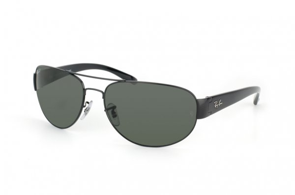 Очки Ray-Ban Active Lifestyle RB3448-002-58 Black | Natural Green Polarized