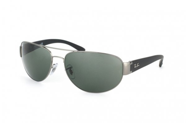 Очки Ray-Ban Active Lifestyle RB3448-004 Gunmetal |  Natural Green