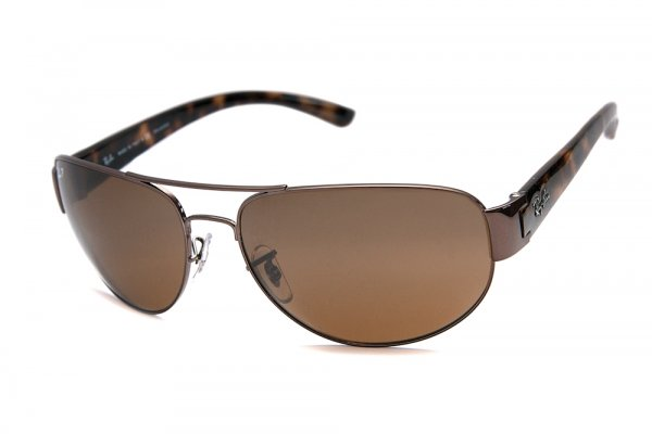 Очки Ray-Ban Active Lifestyle RB3448-014-57 Brown | Natural Brown Polarized
