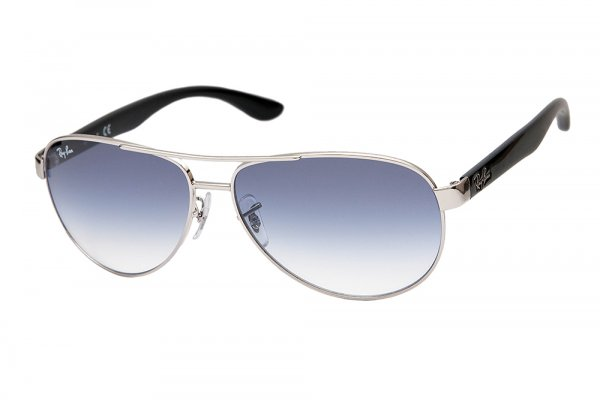 Очки Ray-Ban Active Lifestyle RB3457-003-19 Silver/Black | Gradient Blue