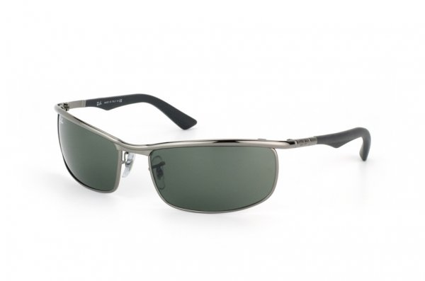 Очки Ray-Ban Active Lifestyle RB3459-004 Gunmetal | Natural Green (G-15XLT)