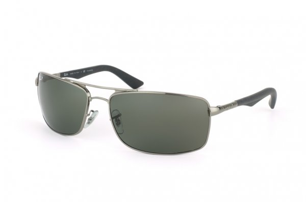 Очки Ray-Ban Active Lifestyle RB3465-004-58 Gunmetal | Natural Green Polarized
