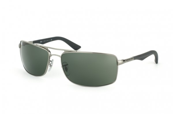 Очки Ray-Ban Active Lifestyle RB3465-004 Gunmetal | Natural Green (G-15XLT)
