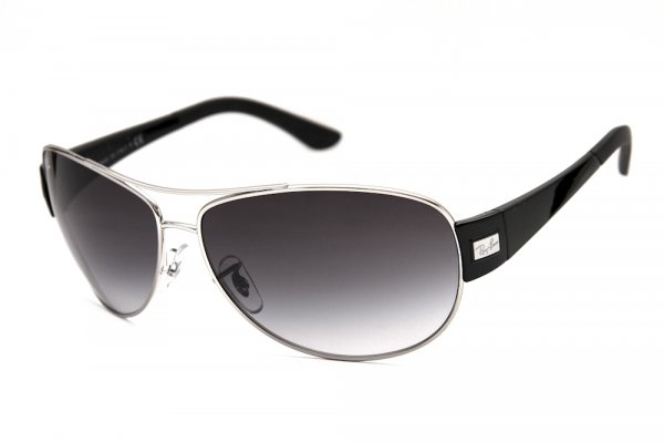 Очки Ray-Ban Active Lifestyle RB3467-003-8G Silver/Poly. Gradient Grey