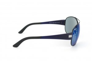 Очки Ray-Ban Active Lifestyle RB3467-006-55 Matt Black / Blue Mirror