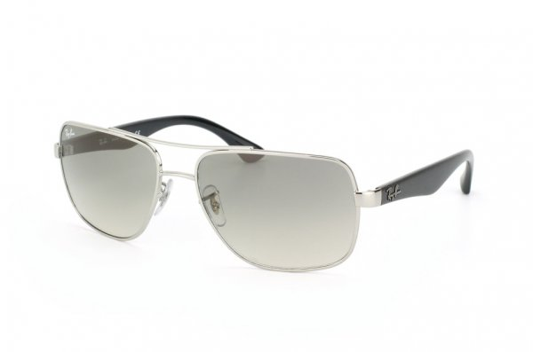 Очки Ray-Ban Active Lifestyle RB3483-003-32 Silver/Gradient Grey