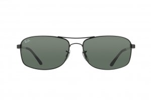 Очки Ray-Ban Active Lifestyle RB3484-002 Black/Natural Green (G-15XLT)