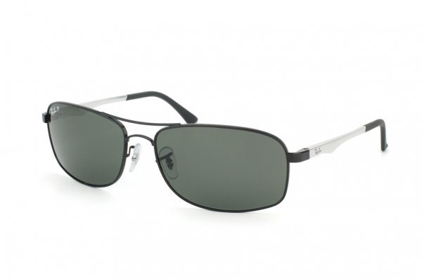 Очки Ray-Ban Active Lifestyle RB3484-002-58 Black | Natural Green Polarized