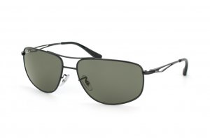 Очки Ray-Ban Active Lifestyle RB3490-006-9A Matt Black | Natural Green Polarized
