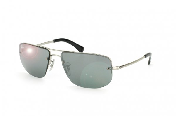 Очки Ray-Ban Active Lifestyle RB3497-003-6G Silver | Silver Mirror
