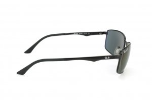Очки Ray-Ban Active Lifestyle RB3498-002-9A Black | APX Grey/Green Polarized