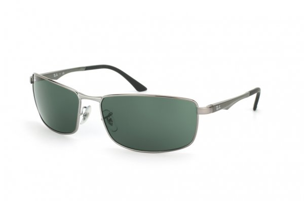 Очки Ray-Ban Active Lifestyle RB3498-004-71 Gunmetal | APX Grey/Green