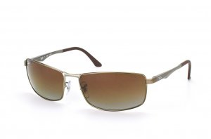 Очки Ray-Ban Active Lifestyle RB3498-029-T5 Matte Gunmetal | Poly. Brown Gradient Polarized