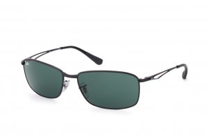 Очки Ray-Ban Active Lifestyle RB3501-006-71 Matt Black | APX Grey/Green