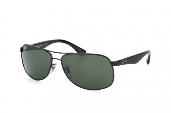 Очки Ray-Ban Active Lifestyle RB3502-002 Black | Natural Green (G-15XLT)