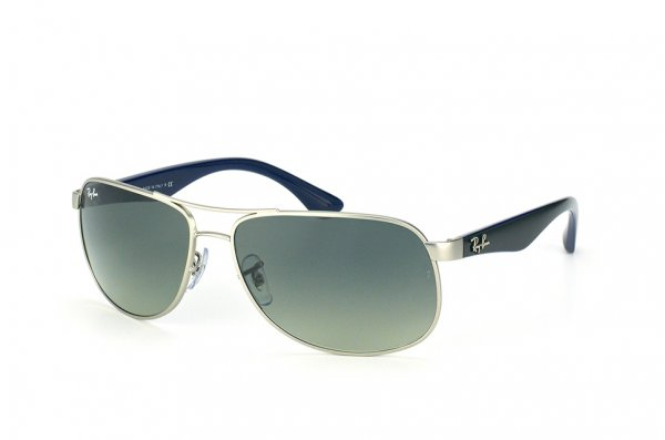 Очки Ray-Ban Active Lifestyle RB3502-019-71 Matte Silver| Grey