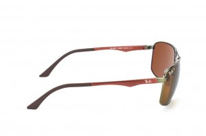 Очки Ray-Ban Active Lifestyle RB3506-132-83 Matte Red / Matte Gunmetal | Poly. Brown Polarized P3