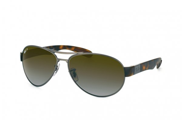 Очки Ray-Ban Active Lifestyle RB3509-029-T5 Matt Dark Gunmetal / Matt Havana | Brown Gradient Polarized